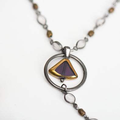 The Purple Gem Necklace