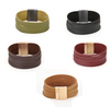 Multi -Layer Faux Suede Cuff