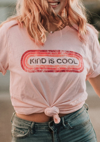 Kind Is Cool Print T Shirt