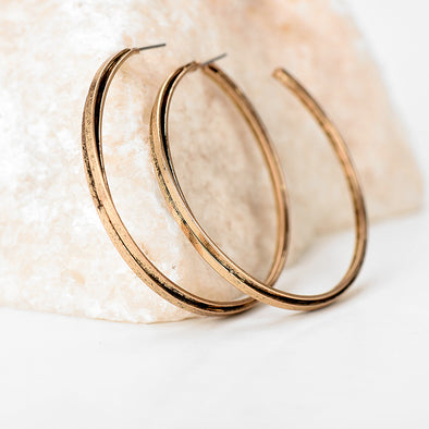 Vintage Hoop Earrings- FREE (Just Cover S&H)