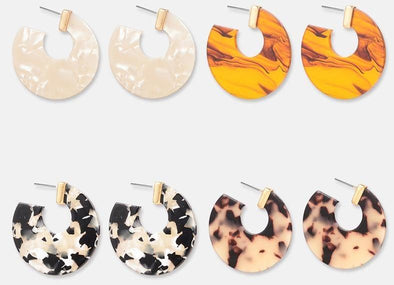 Geometric Acrylic Earrings - FREE - Just Cover S/H