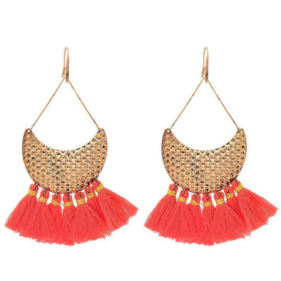 Antique Boho Tassel Earrings