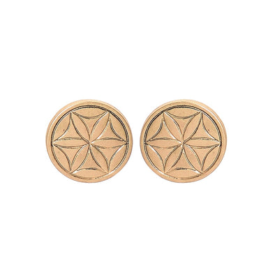 Boho Circle Stud Earring