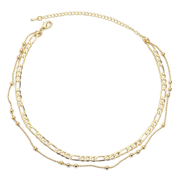 Cuban Double Layer Choker