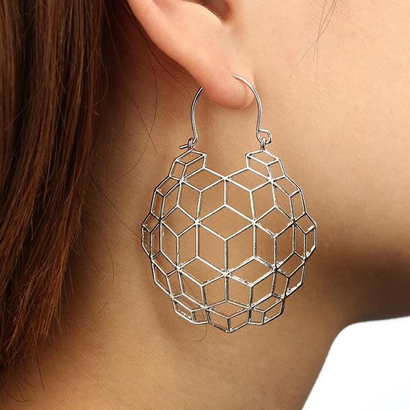Globe Drop Earrings