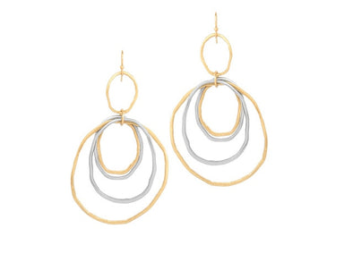 Boho Circle Drop Earrings - FREE - Just Cover S/H