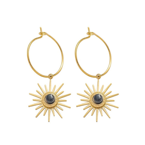 Boho Sun Earrings