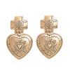 Bohemian Heart Earrings