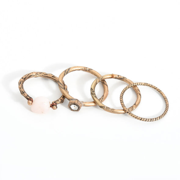Turkish Punk Knuckle Ring Set