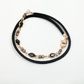 Multi-layer leather Bracelet - FREE - Just Cover S/H