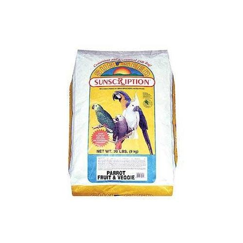 Vitakraft/Sunseed Parrot Fruit/Veggie 25 lb.