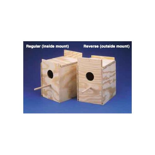 Ware Wood Nesting Box-Finch Regular