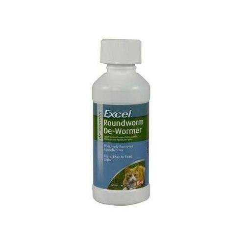 8in1 Excel Roundworm De-Wormer 4 Oz