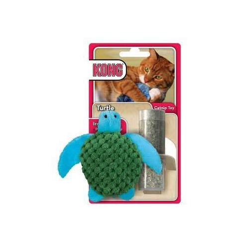 Kong Turtle Refillable Catnip Toy