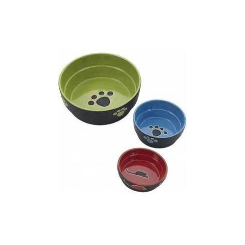 Ethical Fresco Cat Dish Green 5