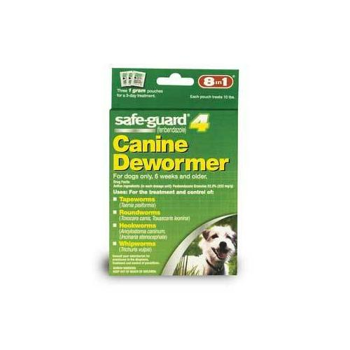 8in1 Safeguard 4 Dog Wormer 1 Gram Small Dog