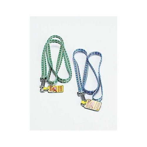 Dog Leash with Plaid Print ( Case of 48 )
