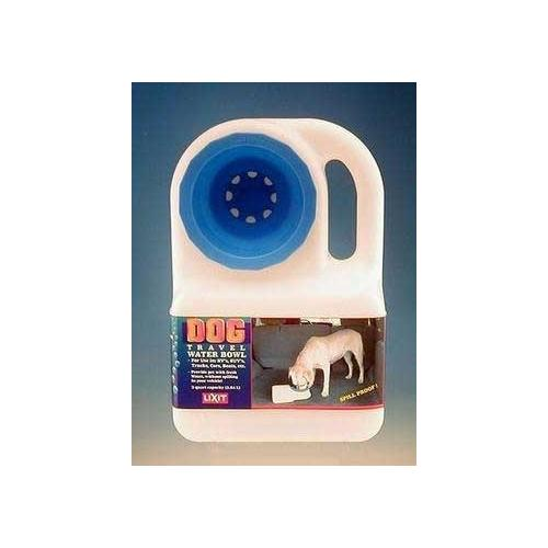 Lixit Water Boy Portable Dog Bowl 3 Qt