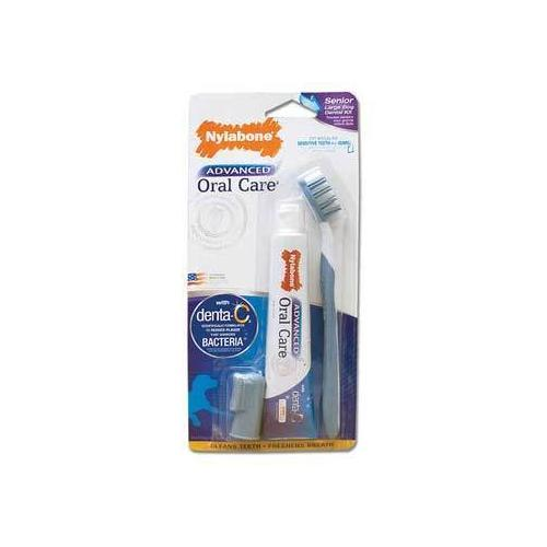 Nylabone Advanced Oral Dental Kit Senior Dog Small