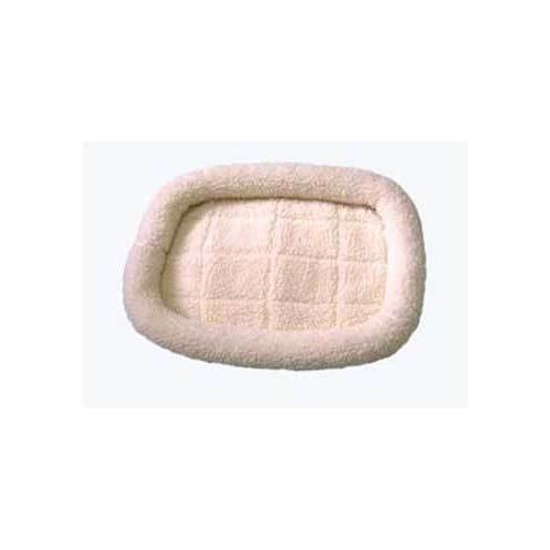 Dreamzone Fleece Bed Natural 30X22