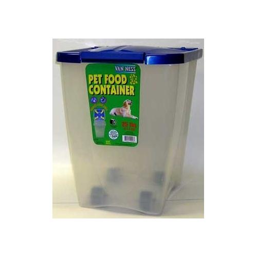 Van Ness Pet Food Container 25 Lb.