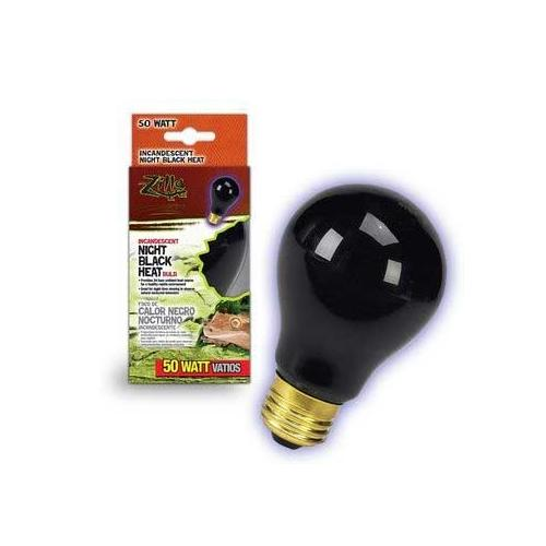 Zilla Night Black Heat Bulb Boxed 50 Watts