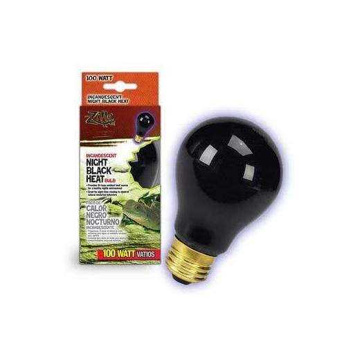 Zilla Night Black Heat Bulb Boxed 100 Watts