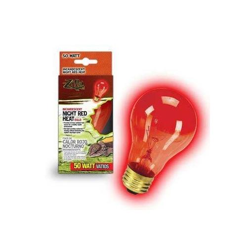 Zilla Night Red Heat Bulb Boxed 50 Watts