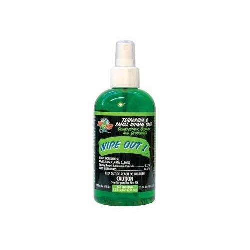 ZooMed Wipeout 1 Terrarium Cleaner 4.25 oz.