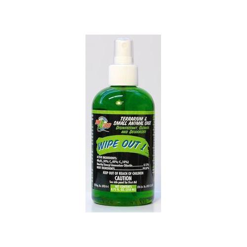 ZooMed Wipeout 1 Terrarium Cleaner 8.75 oz.