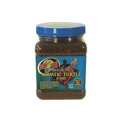 ZooMed Hatchling Aquatic Turtle Dry Food Micro Pellet 15 oz.