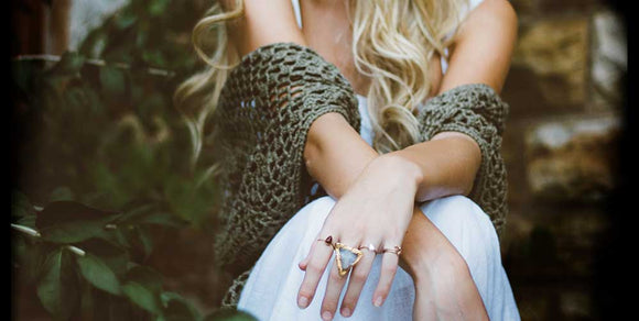 Boho Geometric Jewelry Collection