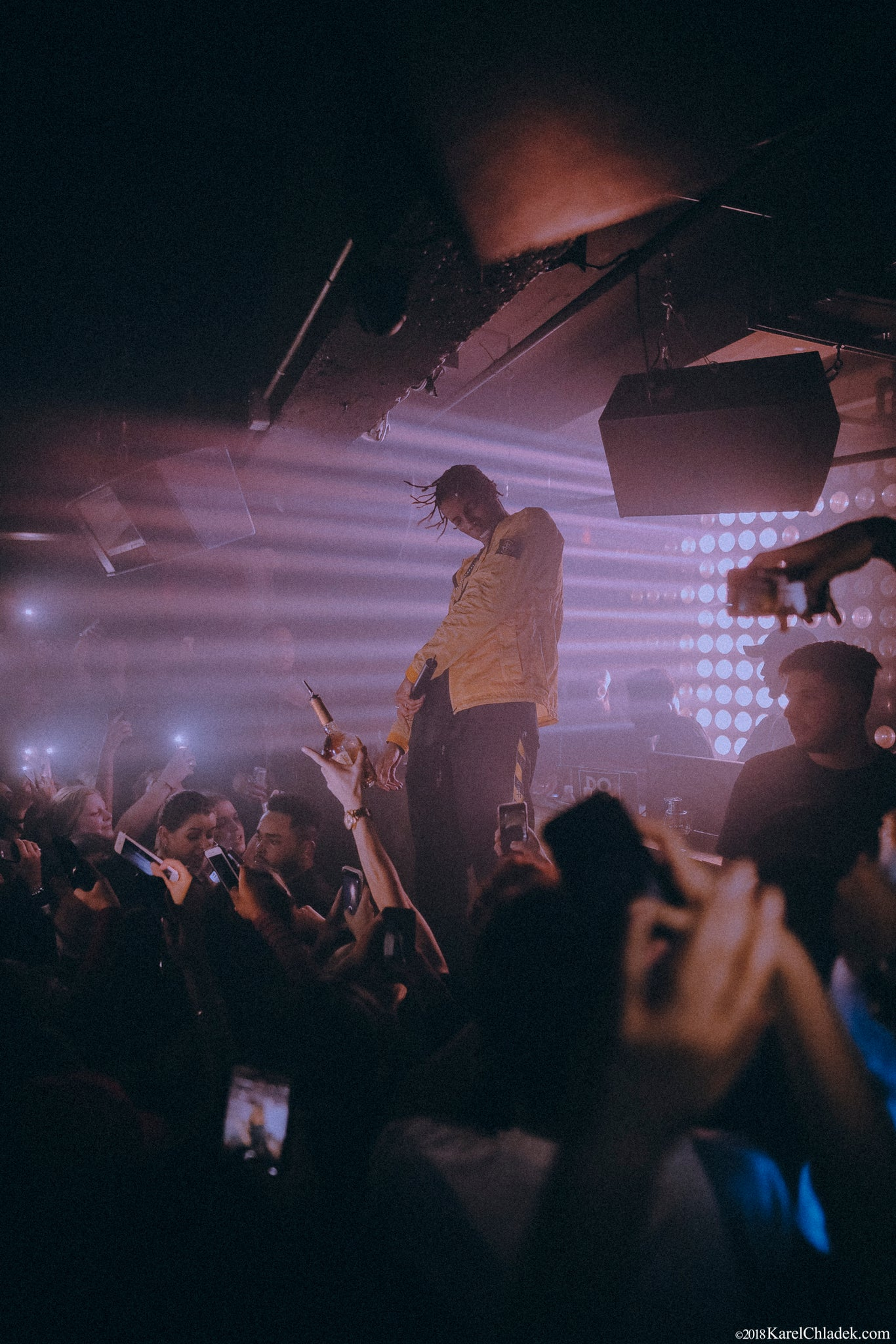 "Roy Woods ""Say Less Tour"" Afterparty at École Privée"