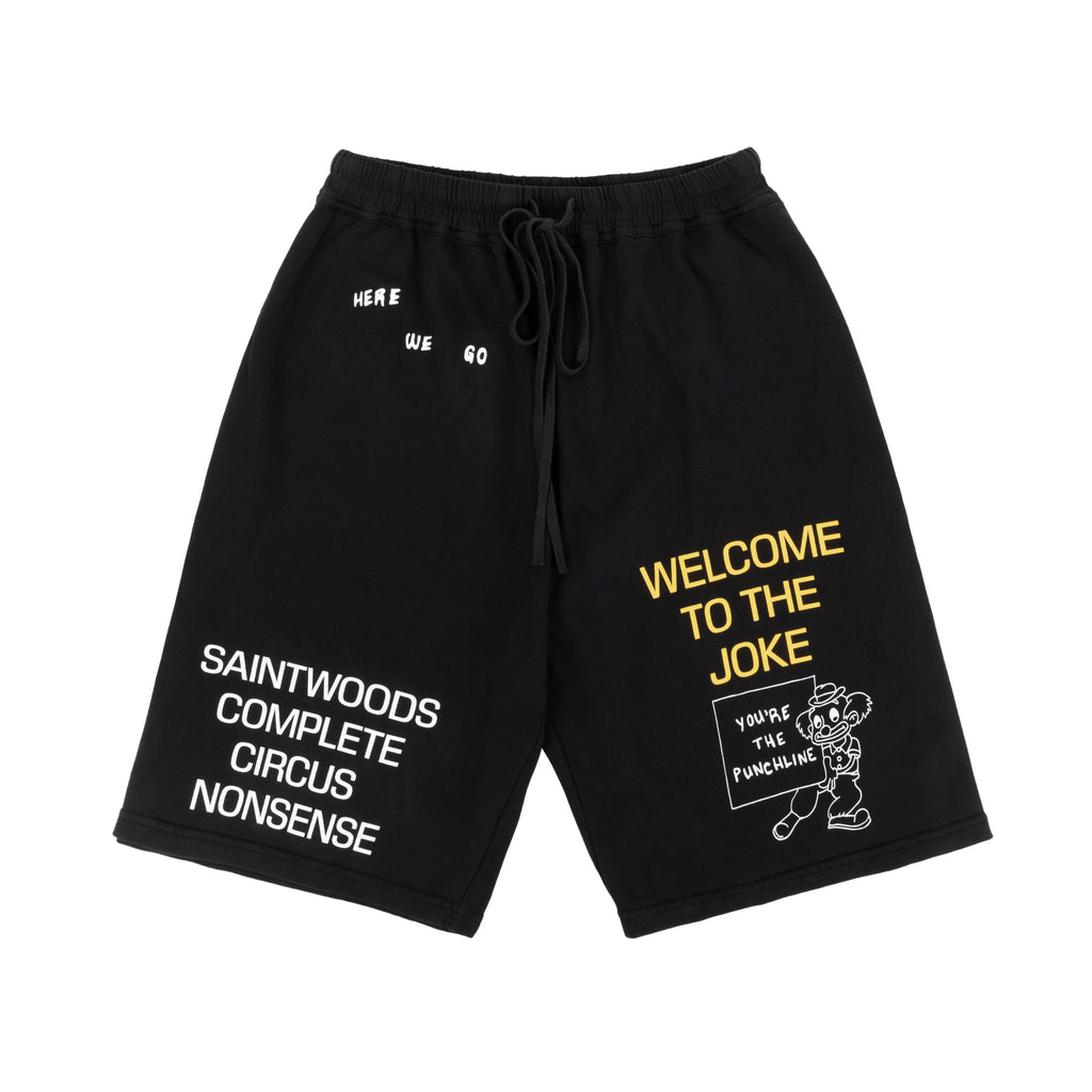 """You're the Punchline"" Cotton Shorts"