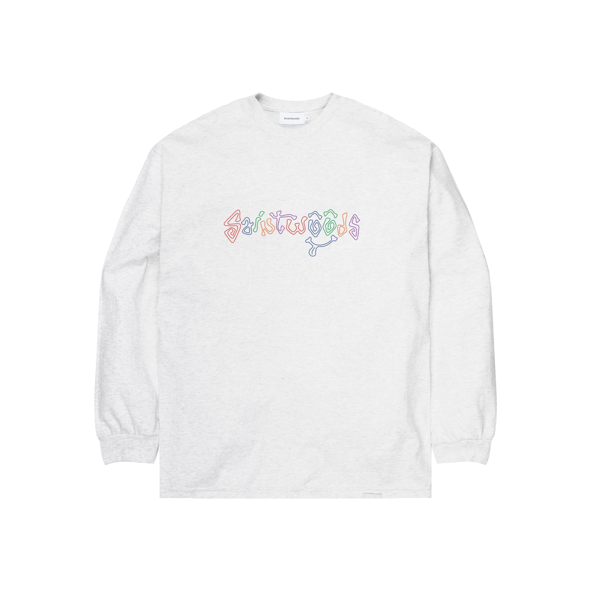 Colour Letter Longsleeve - Long Sleeves - Saintwoods