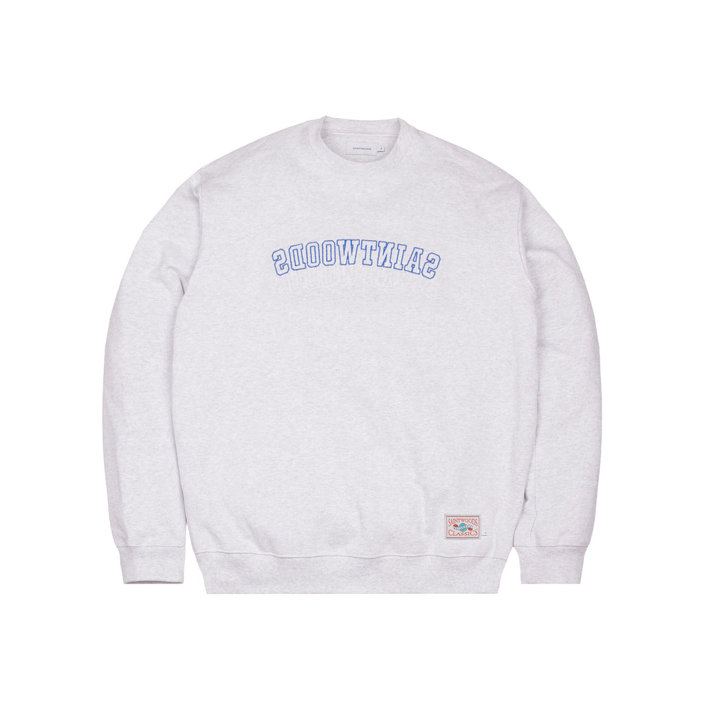 Backwards Classics Crewneck - Crewnecks - Saintwoods