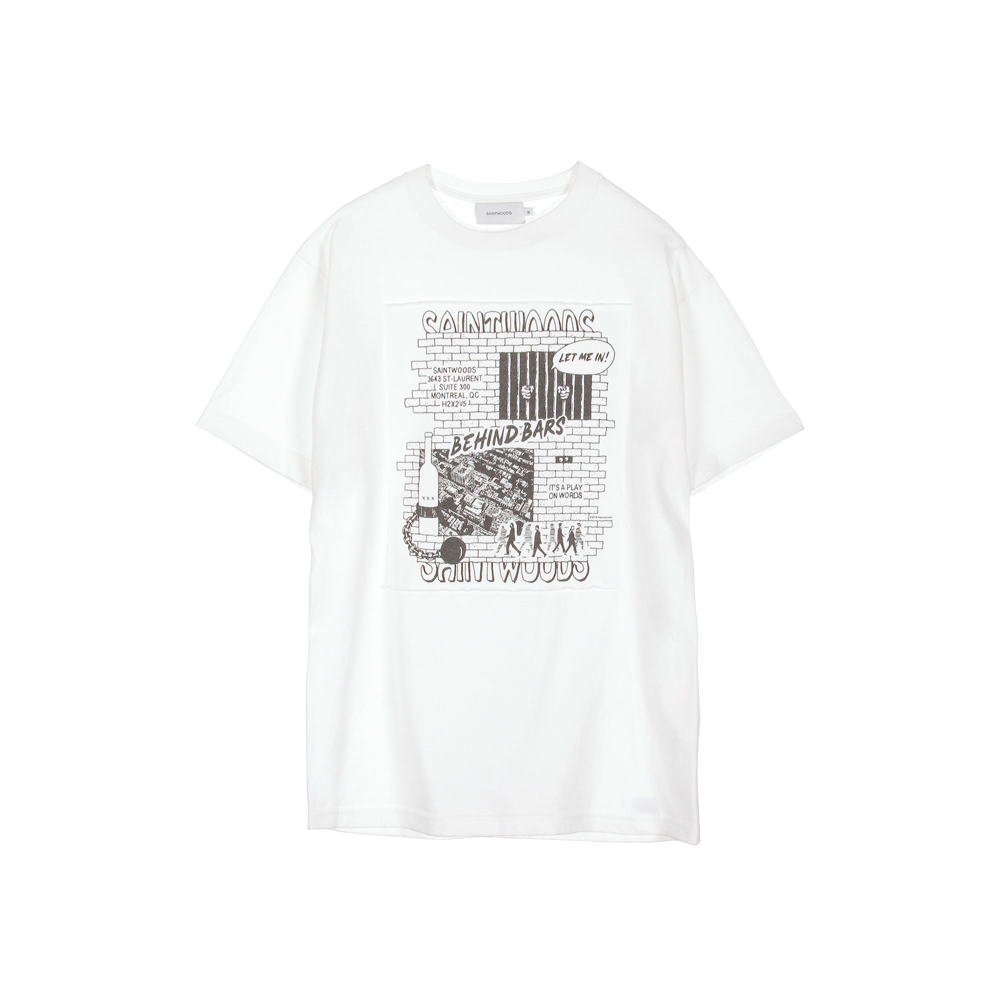 Behind Bars Tee