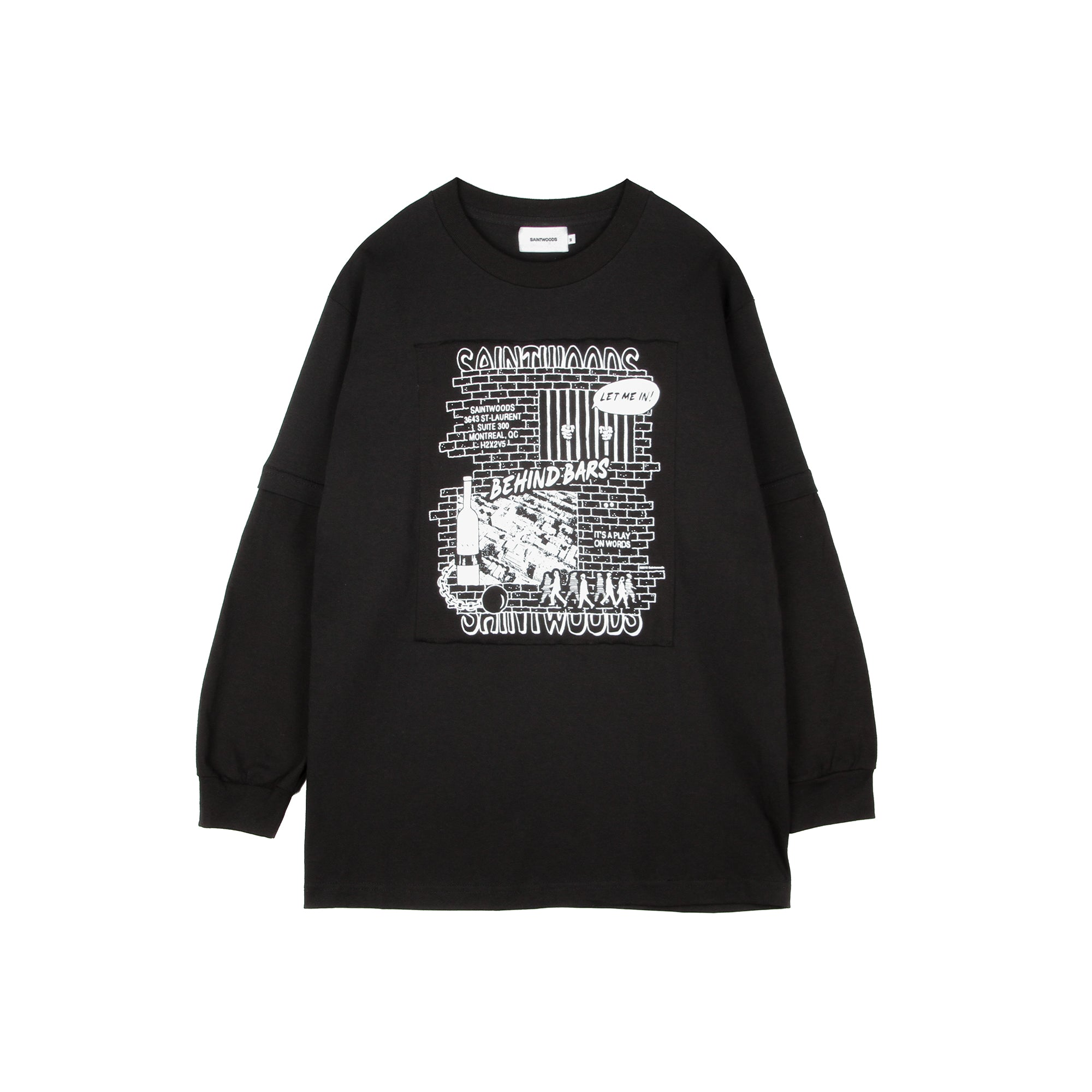 Behind Bars Longsleeve - Long Sleeves - Saintwoods