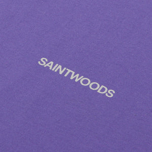 Purple Logo Tee - T-Shirts - Saintwoods