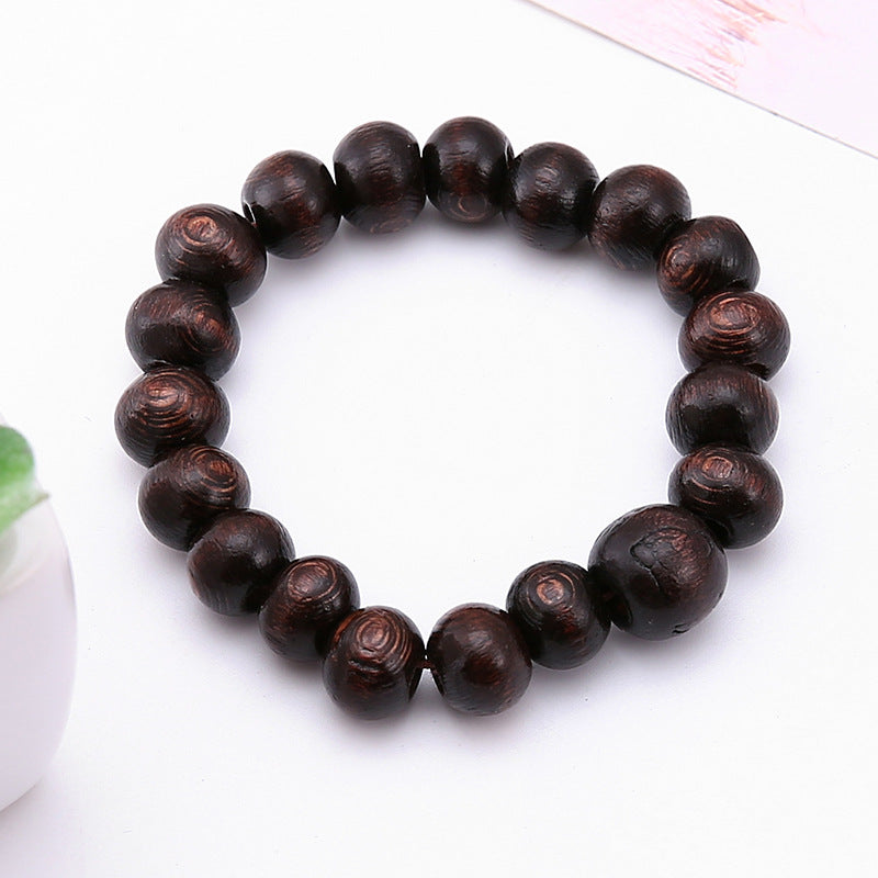wooden bracelets kilem lap string beads annatto hand words ebony kollectibles bracelet bead