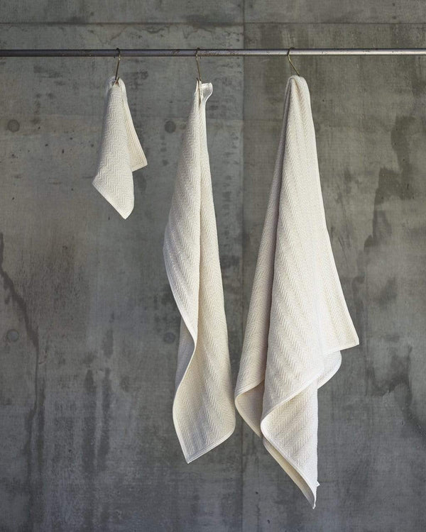 Herringbone Cotton Towel Set