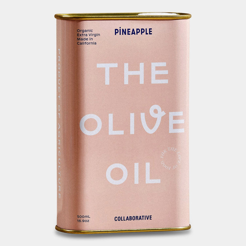 Pineapple Collaborative Olive Oil in Pink