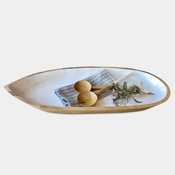Boat Bowl & Servers Gift Set
