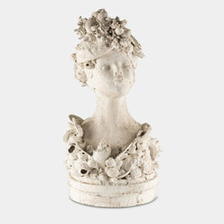Shell bust front view
