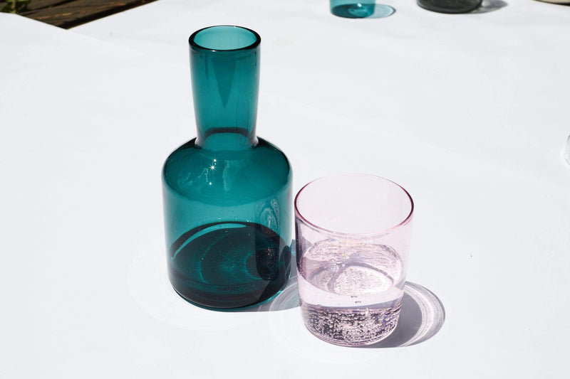 Teal Carafe Set