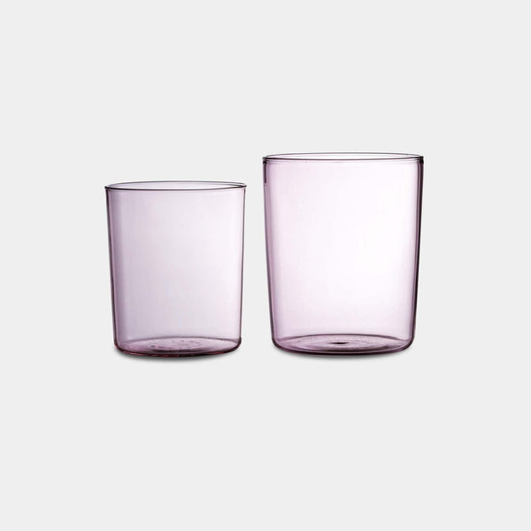 Pink Tumbler Set of 4 in Large