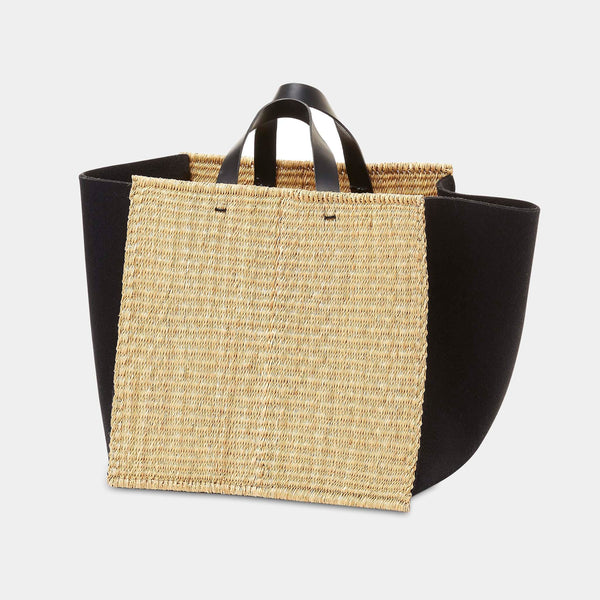 Natural and Felt Basket