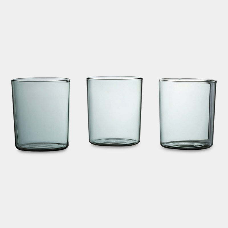 Smoke Tumbler Set of 4 in Large