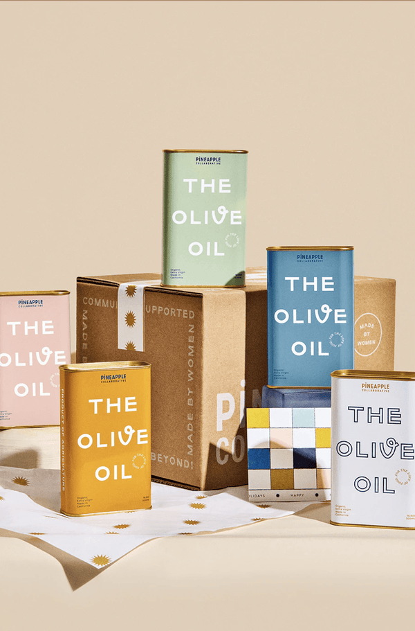 Olive Oil by Pineapple Collaborative Pink