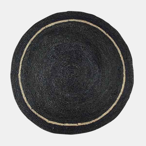 Handwoven Placemat in Black